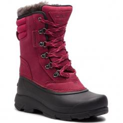 Śniegowce CMP - Kinos Wmn Snow Boot Wp 2.0 38Q4556 Syrah/Nero 59BN. Czerwone buty zimowe damskie marki CMP, z materiału. W wyprzedaży za 279,00 zł.