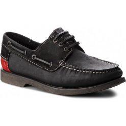 Mokasyny TOMMY JEANS - Winter B EM0EM00158 Black 990. Czarne mokasyny męskie Tommy Jeans, z jeansu. W wyprzedaży za 309,00 zł.