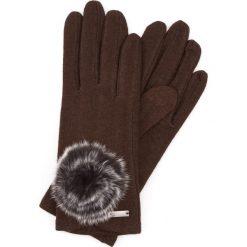 Rękawiczki damskie: 47-6-101-D Rękawiczki damskie