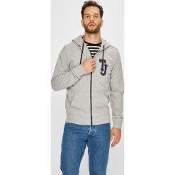 Tommy Jeans - Bluza. Szare bejsbolówki męskie Tommy Jeans, l, z bawełny, z kapturem. W wyprzedaży za 319,90 zł.