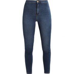 Even&Odd Jeans Skinny Fit dark blue. Niebieskie rurki damskie Even&Odd. Za 129,00 zł.