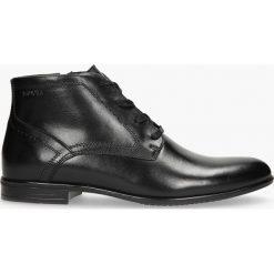 Kozaki czarne Peppe. Czarne buty zimowe męskie Badura. Za 319,99 zł.