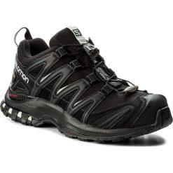 Buty SALOMON - Xa Pro 3D Gtx GORE-TEX 393329 20 V0 Black/Black/Mineral Grey. Czarne buty do biegania damskie Salomon, z gore-texu. W wyprzedaży za 449,00 zł.