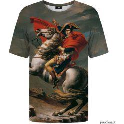 T-shirt ze wzorem Napoleon. Czarne t-shirty męskie marki Pakamera, m, z kapturem. Za 129,00 zł.
