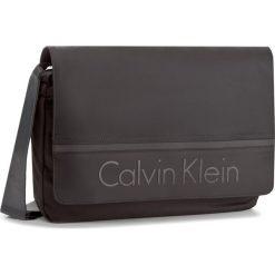 Torba na laptopa CALVIN KLEIN BLACK LABEL - Matthew Messenger W K50K502886 001. Czarne plecaki męskie marki Calvin Klein Black Label, z materiału. W wyprzedaży za 309,00 zł.