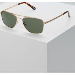 Okulary przeciwsłoneczne męskie: GANT Okulary przeciwsłoneczne gold/green polarized
