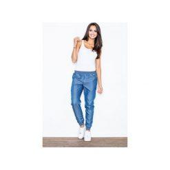 Spodnie dresowe damskie: Spodnie M307 Niebieski