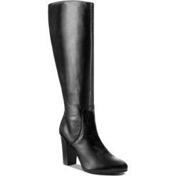 Kozaki SERGIO BARDI - Carmagnola FW127264417JR 101. Czarne buty zimowe damskie Sergio Bardi, ze skóry. W wyprzedaży za 299,00 zł.