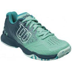 Wilson Buty Tenisowe Kaos Comp W Electric Green/Reflecting/Aruba Blue 39.7. Szare buty do fitnessu damskie marki KALENJI, z gumy. W wyprzedaży za 299,00 zł.