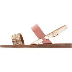 Rzymianki damskie: Office HONEY Sandały pink/gold