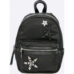 Steve Madden - Plecak. Czarne plecaki damskie marki Steve Madden, z materiału. W wyprzedaży za 219,90 zł.