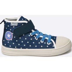 Befado - Trampki dziecięce. Szare buty sportowe dziewczęce marki Befado, z materiału. W wyprzedaży za 39,90 zł.