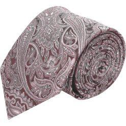 Krawaty męskie: krawat platinum róż classic 215