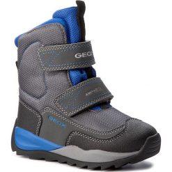 Buty zimowe chłopięce: Śniegowce GEOX – J Orizont B B. Abx F J740BF 01150 C0069 Grey/Royal