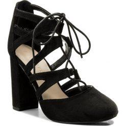 Sandały damskie: Sandały JENNY FAIRY - WYL1203-6 Czarny
