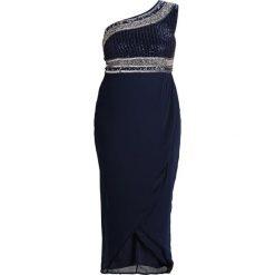 Długie sukienki: Lace & Beads Curvy MEDUSSA Długa sukienka navy