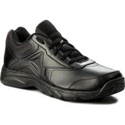 Buty Reebok - Work N Cushion 3.0 BS9524 Black. Czarne buty do biegania męskie marki Reebok, z materiału. Za 229,00 zł.