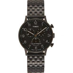 Timex WATERBURY Zegarek chronograficzny black. Czarne zegarki męskie Timex. Za 669,00 zł.