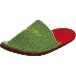 """Kapcie męskie: Kapcie """"Happy"""" w kolorze zielonym"""