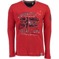 """T-shirty męskie z nadrukiem: Koszulka """"Jolduc"""" w kolorze czerwonym"""