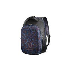 Torby na laptopa: Plecak na notebooka 17,3 cala Urage Illuminated Czarno-niebieski Plecak HAMA