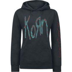 Korn New Doll Bluza z kapturem damska czarny. Czarne bluzy rozpinane damskie Korn, xl, z nadrukiem, z kapturem. Za 164,90 zł.