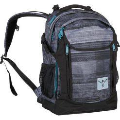 """Torebki i plecaki damskie: Plecak """"Cambridge"""" w kolorze czarno-szarym – 30 x 47 x 15 cm"""