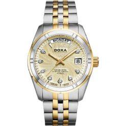 ZEGAREK DOXA Nobel Gent D173TCM. Żółte zegarki męskie marki DOXA, ze stali. Za 4580,00 zł.