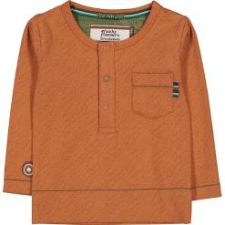 """Koszulka """"Skin"""" w kolorze pomarańczowym. Brązowe t-shirty chłopięce z długim rękawem marki 4FunkyFlavours Kids. W wyprzedaży za 72,95 zł."""