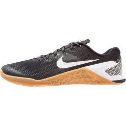 Nike Performance METCON 4 Obuwie treningowe black/white/medium brown. Czarne buty skate męskie Nike Performance, z materiału. Za 549,00 zł.