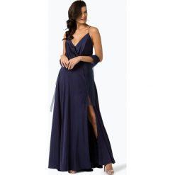 Sukienki: Unique – Damska sukienka wieczorowa, niebieski