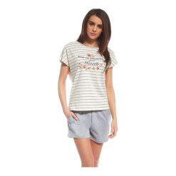 Piżama Provence 053/100. Czerwone piżamy damskie Cornette, z napisami. Za 75,90 zł.