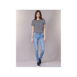 Jeansy skinny Levis  721 HIGH RISE SKINNY. Brązowe jeansy damskie skinny marki Levi's®, z obniżonym stanem. Za 351,20 zł.