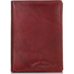 SKÓRZANY PORTFEL MĘSKI BAG STREET. Czerwone portfele męskie marki Bag Street, ze skóry. Za 39,90 zł.