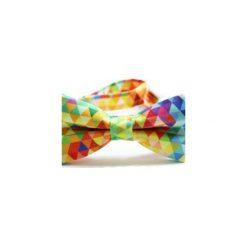 Mucha Colorful. Szare muchy męskie Edyta kleist, w kolorowe wzory, z tkaniny, eleganckie. Za 99,00 zł.