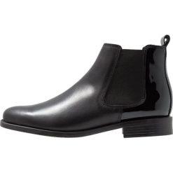 Pinto Di Blu Ankle boot noir. Czarne botki damskie na zamek Pinto Di Blu, z materiału. Za 369,00 zł.