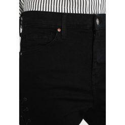 Topshop JAMIE Jeans Skinny Fit black. Czarne jeansy damskie marki Topshop. W wyprzedaży za 231,20 zł.