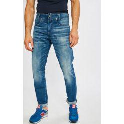 G-Star Raw - Jeansy. Niebieskie jeansy męskie regular G-Star RAW. W wyprzedaży za 449,90 zł.