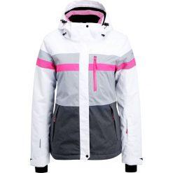 Icepeak KATIA Kurtka narciarska optic white. Białe kurtki damskie Icepeak, z materiału, narciarskie. W wyprzedaży za 607,20 zł.