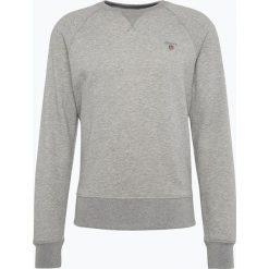 Gant - Męska bluza nierozpinana, szary. Szare bluzy męskie rozpinane marki GANT, z gumy. Za 299,95 zł.