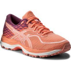 Buty ASICS - Gel-Cumulus 19 Gs C742N  Begonia Pink/Baton Rouge 0606. Brązowe buty do biegania damskie Asics, z materiału. W wyprzedaży za 199,00 zł.