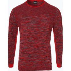 Swetry klasyczne męskie: BOSS Athleisure – Sweter męski – Rouler, czerwony