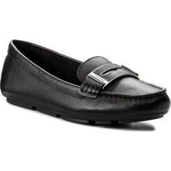 Mokasyny CALVIN KLEIN - Luna E6638  Black. Czarne mokasyny damskie Calvin Klein, ze skóry. W wyprzedaży za 429,00 zł.
