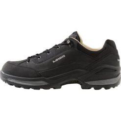 Lowa RENEGADE LL Obuwie hikingowe schwarz. Czarne buty skate męskie Lowa, z materiału, outdoorowe. Za 729,00 zł.