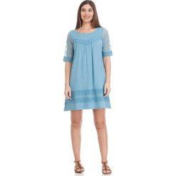 Sukienki hiszpanki: Sukienka w kolorze błękitnym