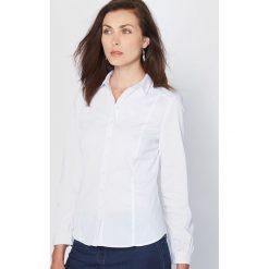 Bluzki damskie: Bluzka, przewaga bawełny ze stretchem