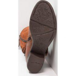 MJUS SCUBYSCUBINA Kozaki sznurowane horse. Brązowe buty zimowe damskie MJUS, z materiału. W wyprzedaży za 559,30 zł.