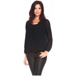 La Belle Parisienne Bluzka Damska Shanon M Czarna. Czarne bluzki z odkrytymi ramionami marki Fille Du Couturier, z bawełny. Za 125,00 zł.