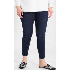 New Look Curves HIG WAIST KARL RINSE Jeans Skinny Fit indigo. Niebieskie jeansy damskie New Look Curves, z bawełny. W wyprzedaży za 134,10 zł.
