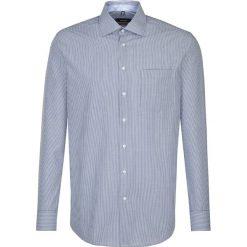 Koszule męskie na spinki: Koszula – Modern fit – w kolorze niebiesko-białym
